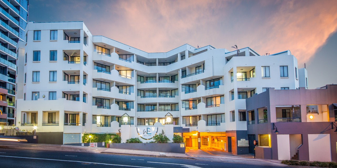 West End Central Apartments - Lennox Head Accommodation