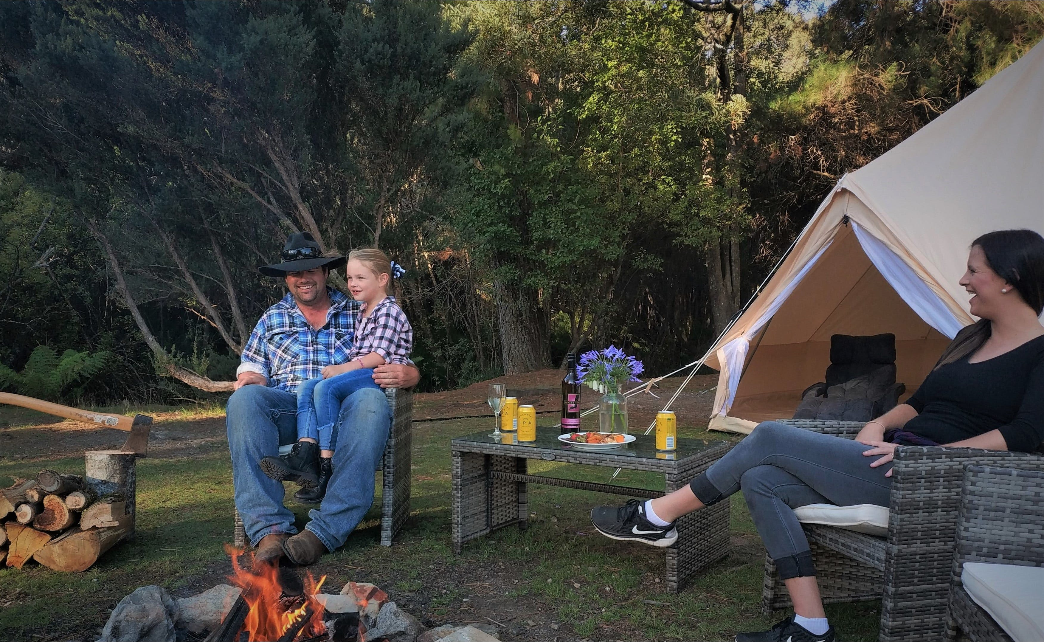Zeehan Bush Camp - Lennox Head Accommodation