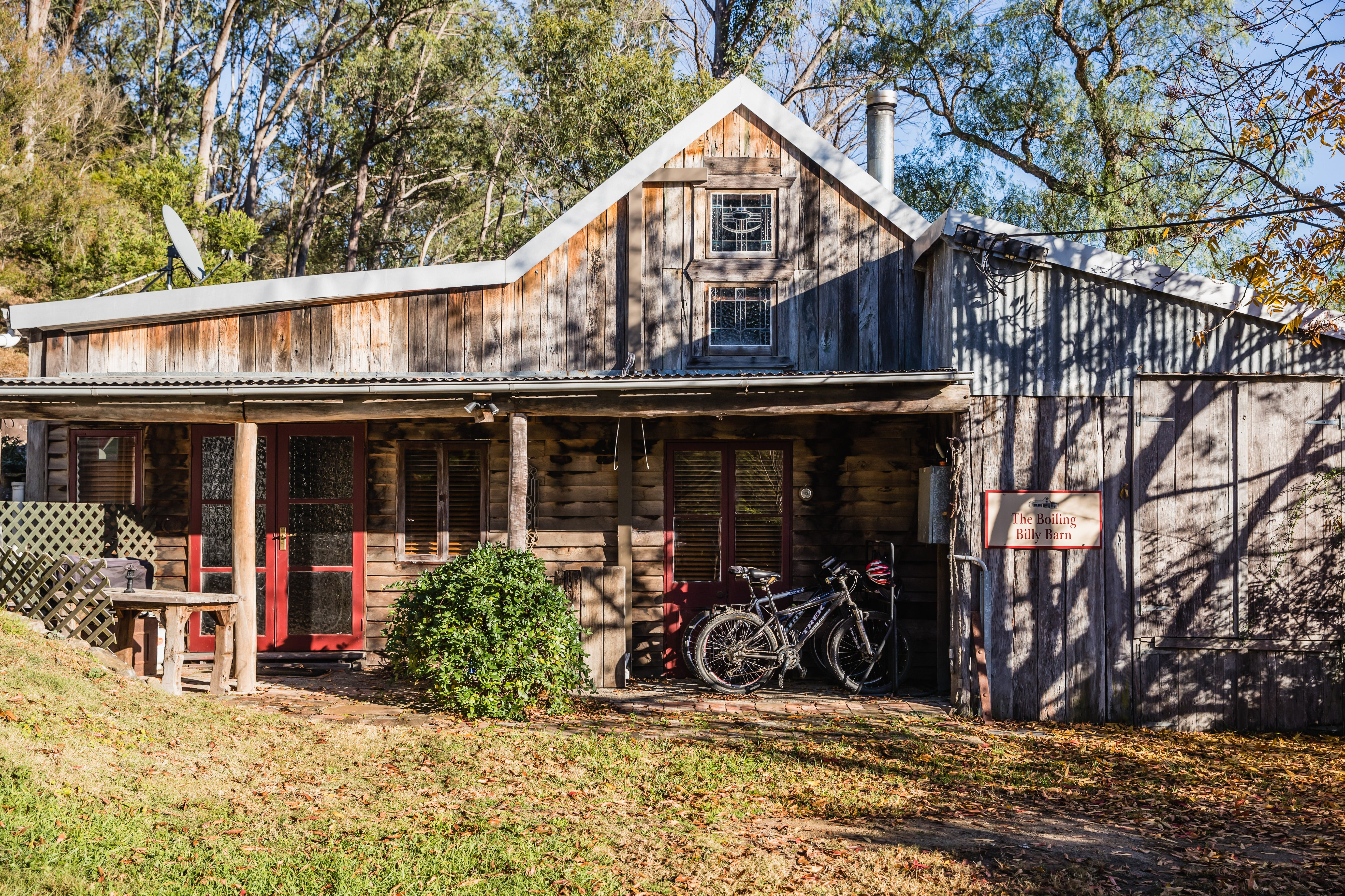 The Boiling Billy Barn - Lennox Head Accommodation