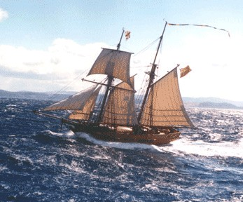 Enterprize - Melbourne's Tall Ship - Lennox Head Accommodation