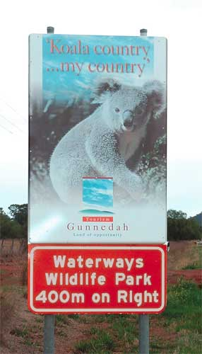 Waterways Wildlife Park - Lennox Head Accommodation
