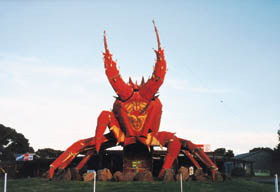 The Big Lobster - Lennox Head Accommodation