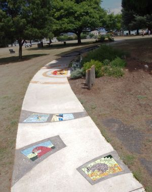 Mosaic Pathway WASS - Lennox Head Accommodation
