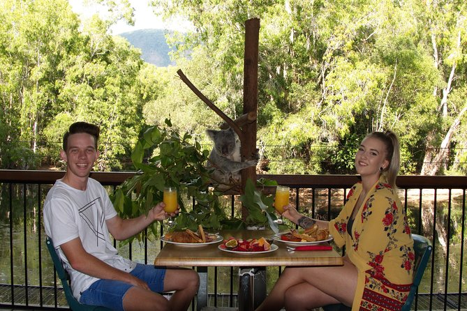 Hartley's Crocodile Adventures Entry Ticket and Breakfast with the Koalas - Lennox Head Accommodation
