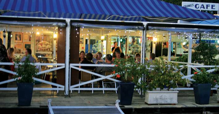 The Colonels Restaurant  Bar - Lennox Head Accommodation