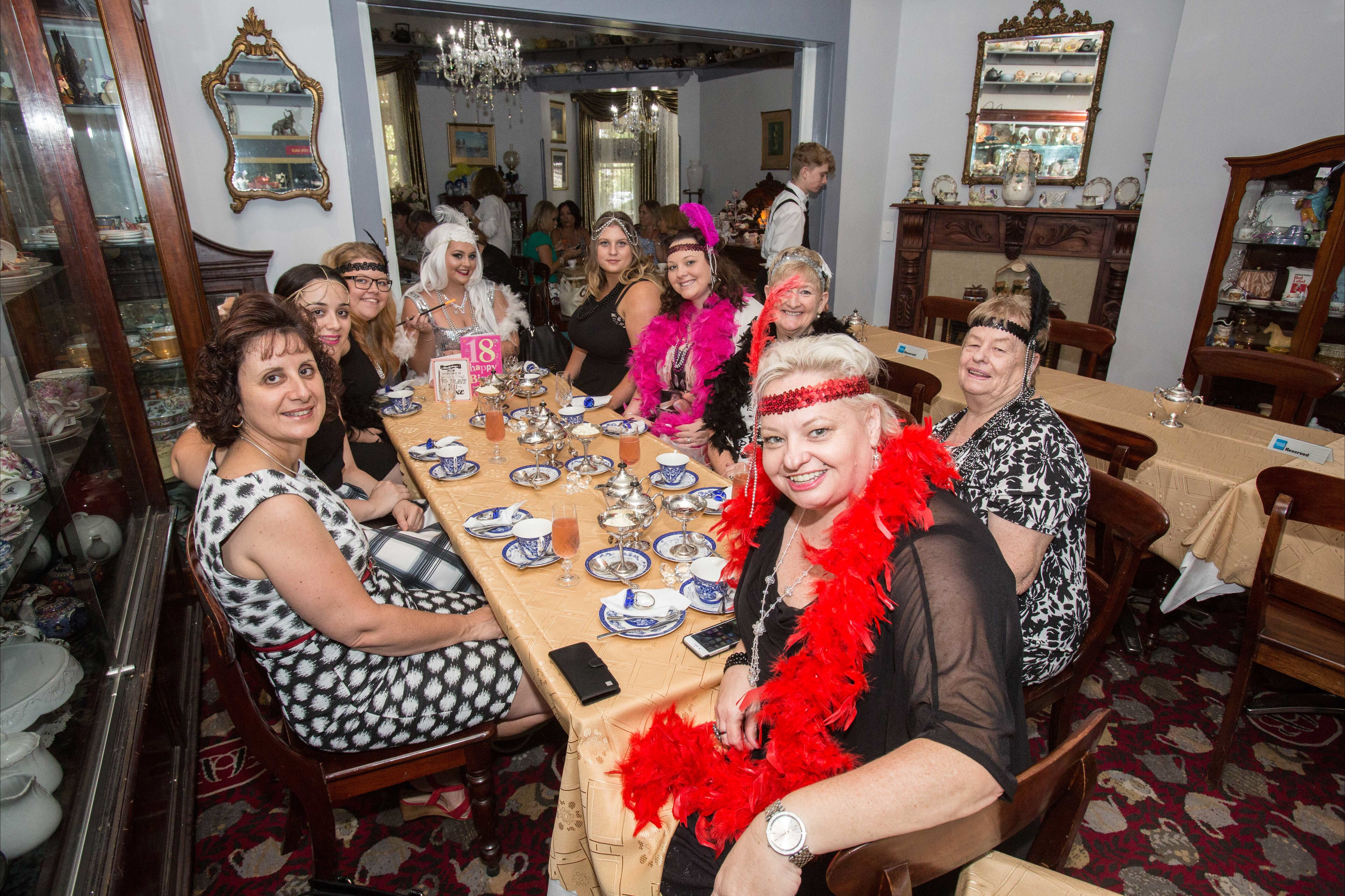Bygone Beauty's Traditional High Tea Supreme for Good Food Month. - Lennox Head Accommodation