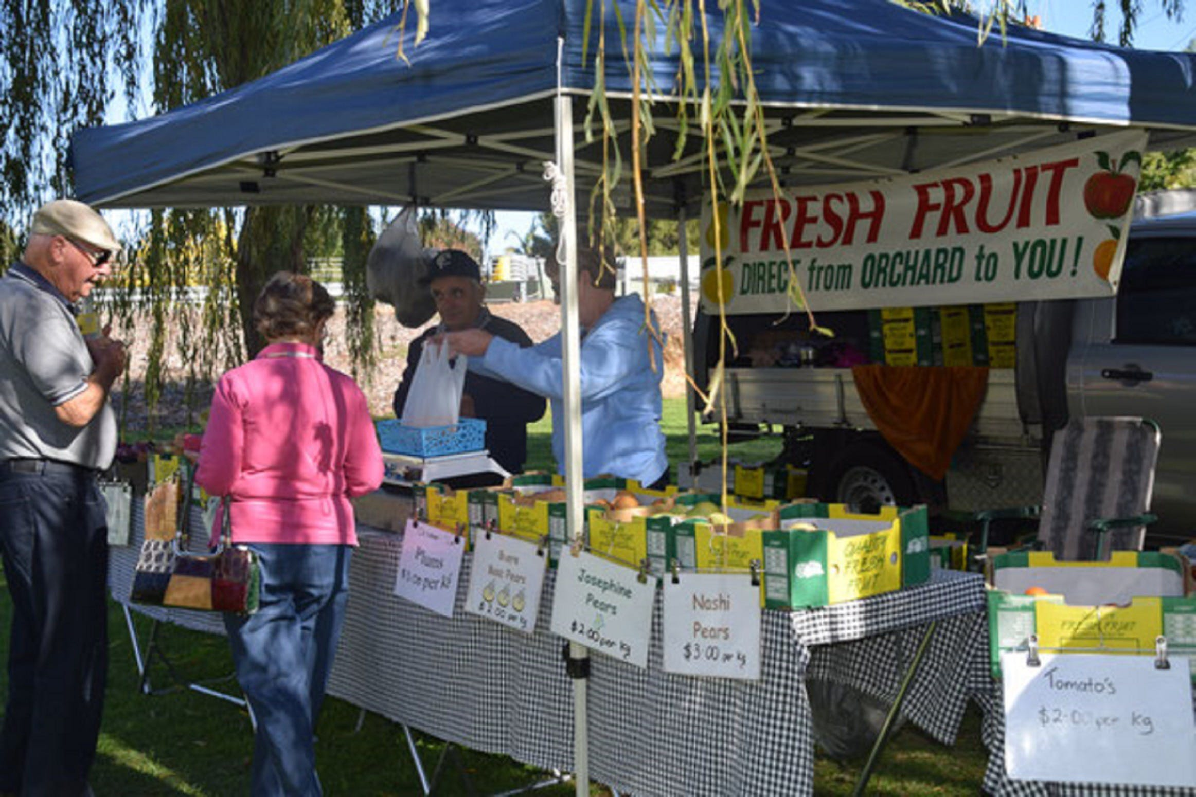Corowa Rotary Federation Festival Market - Lennox Head Accommodation