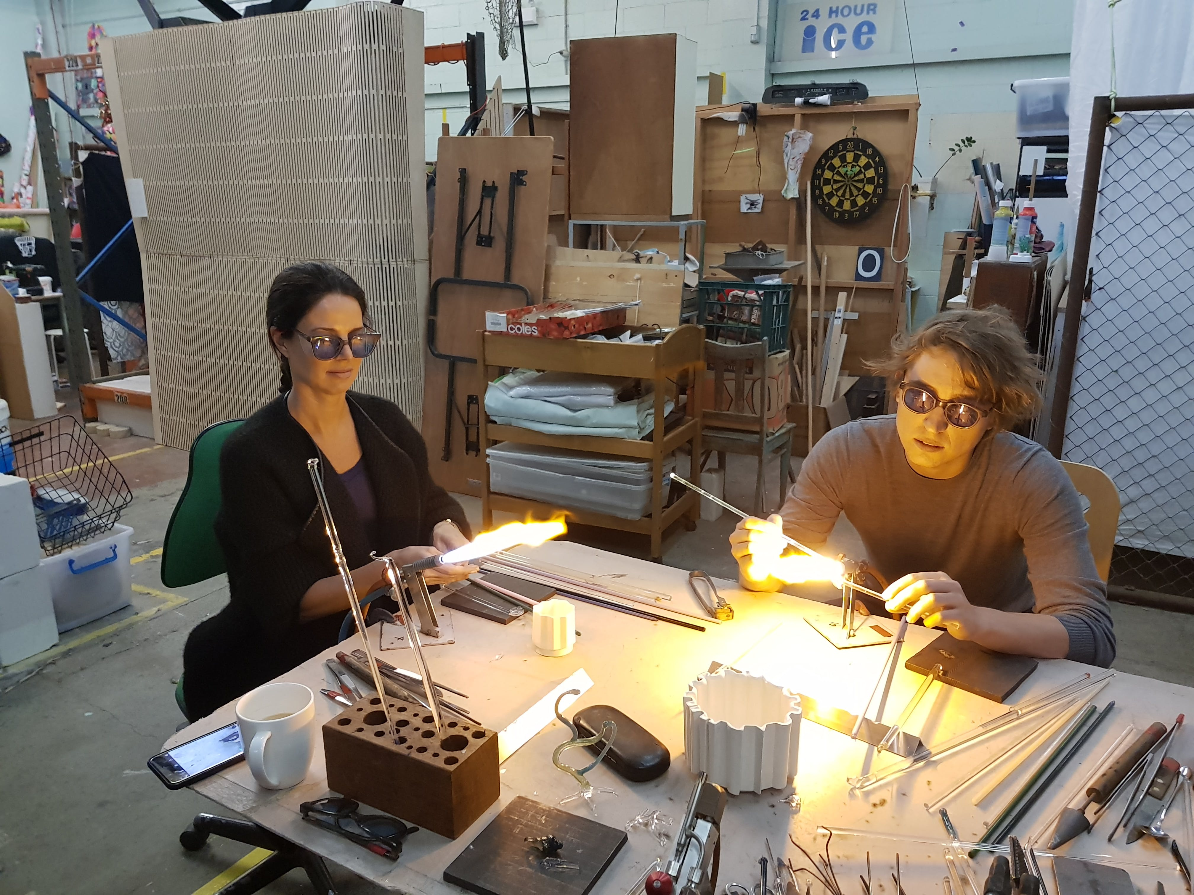 Glass Blowing Beginners Workshop Weekend - Lennox Head Accommodation