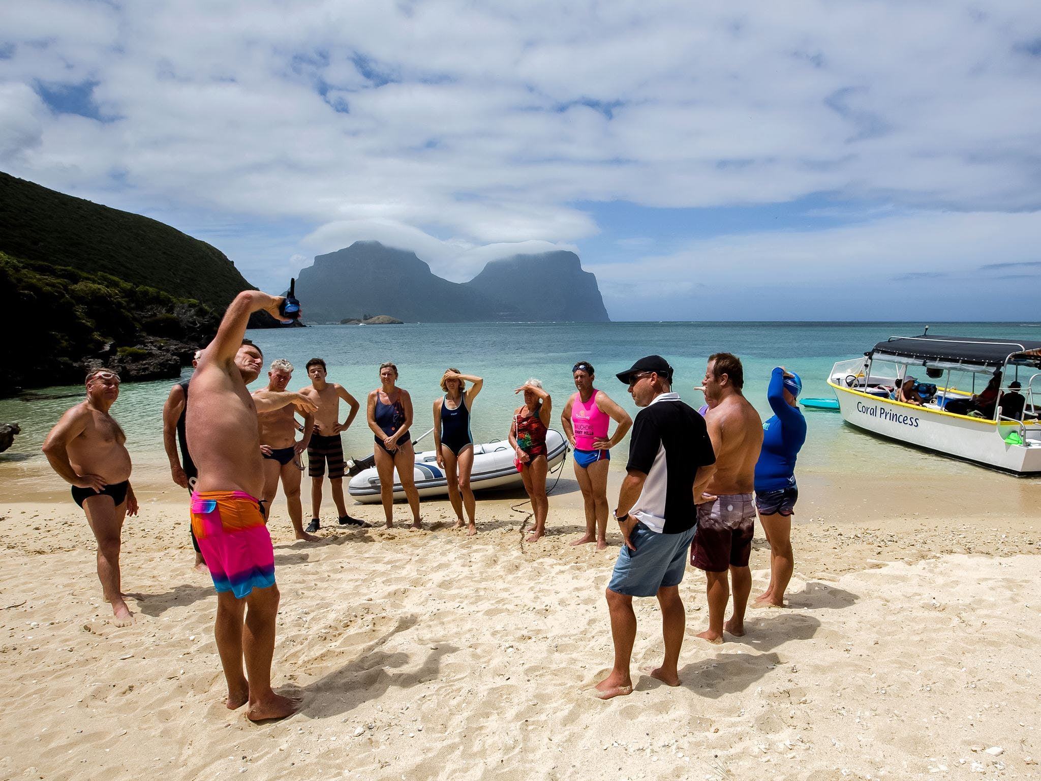 Ocean Swim Week with Trevor Hendy Pinetrees Lord Howe Island - Lennox Head Accommodation