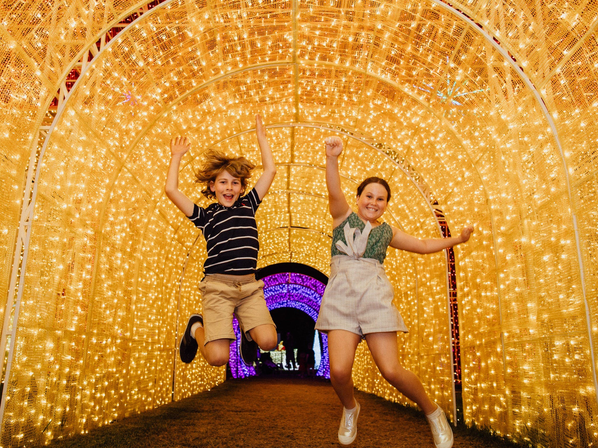 Christmas Lights Spectacular New Year's Eve at Hunter Valley Gardens - Lennox Head Accommodation