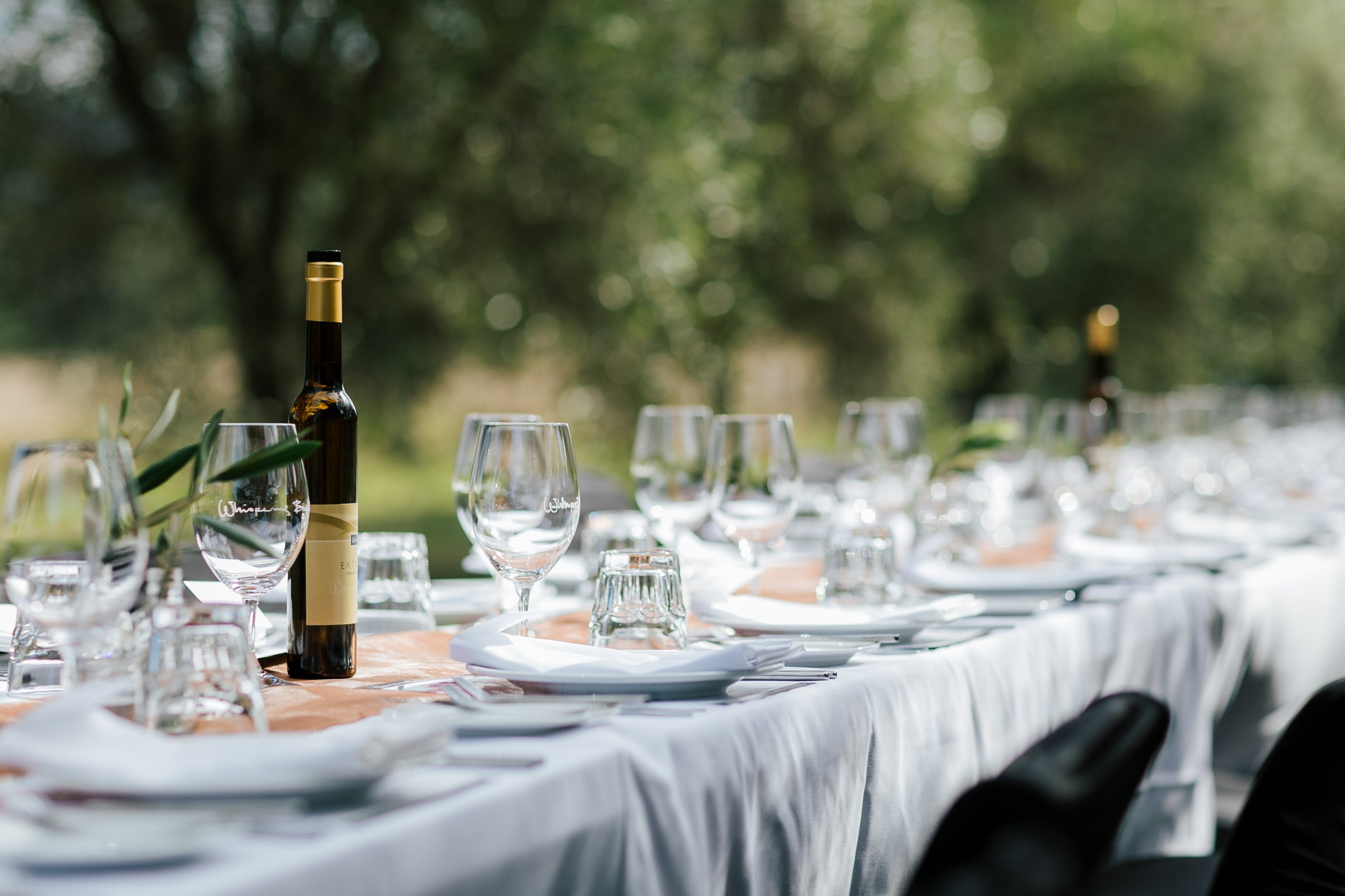 Whispering Brook Olive Long Table Luncheon - Lennox Head Accommodation