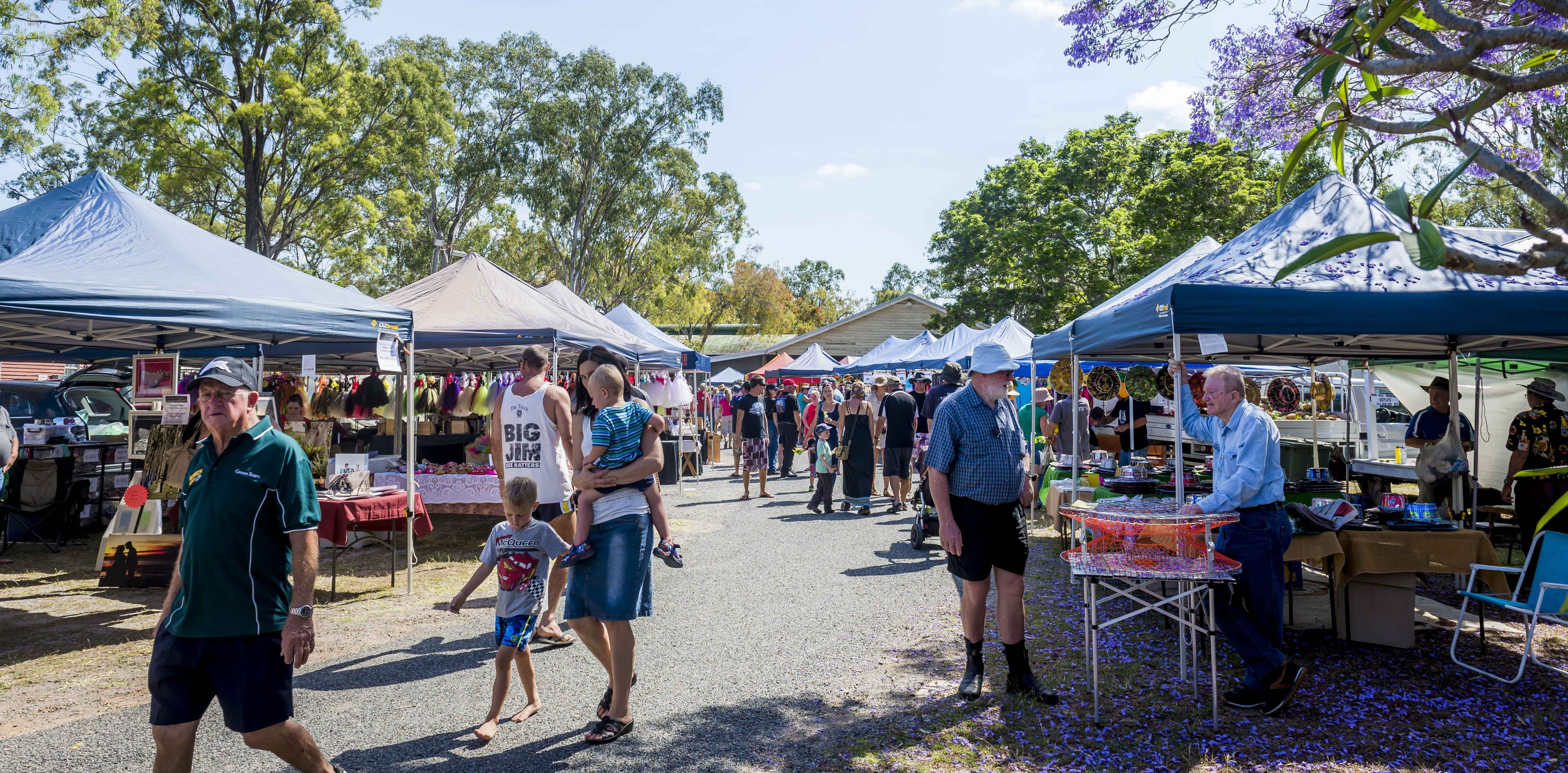 Calliope Historical Village Markets - Lennox Head Accommodation