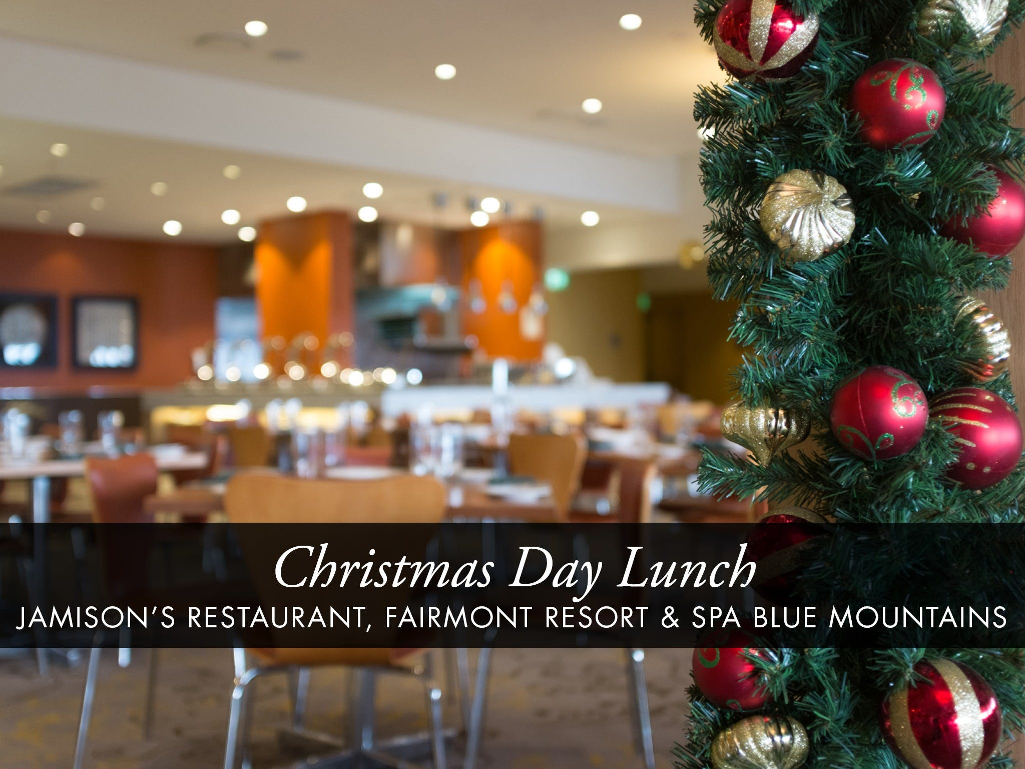 Christmas Day Buffet Lunch at Jamison's Restaurant - Lennox Head Accommodation