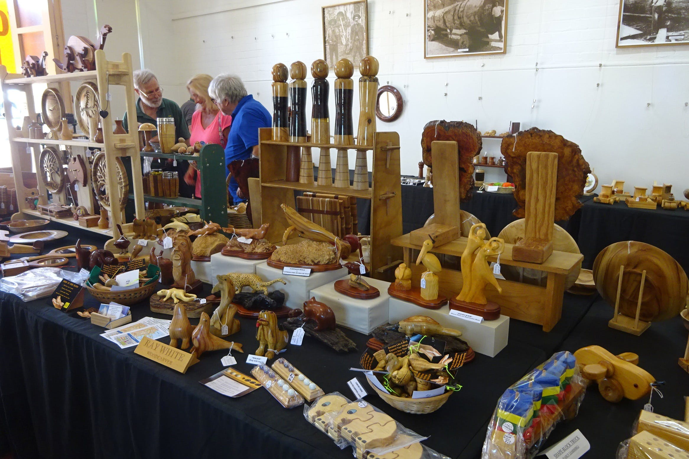 Kiama Woodcraft Group - Exhibition and Sales - Lennox Head Accommodation