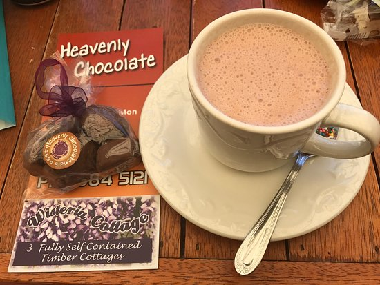 Stanthorpe's Heavenly Chocolate at Wisteria Cottage - Lennox Head Accommodation