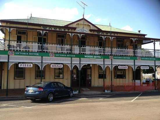 The Wondai Hotel  Cellar - Lennox Head Accommodation