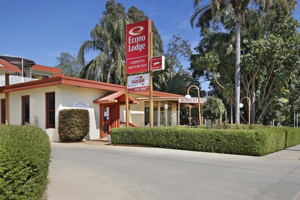 Econo Lodge Griffith Motor Inn - Lennox Head Accommodation