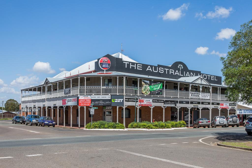 The Australian Hotel Murgon - Lennox Head Accommodation