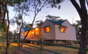 Accommodation Creek Cottages  Sundown View Suites - Lennox Head Accommodation